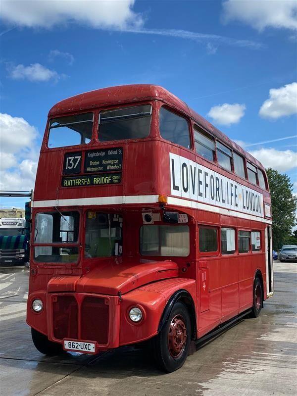 PARK ROYAL RM 970 ROUTEMASTER DINER BUS divstāvu autobuss