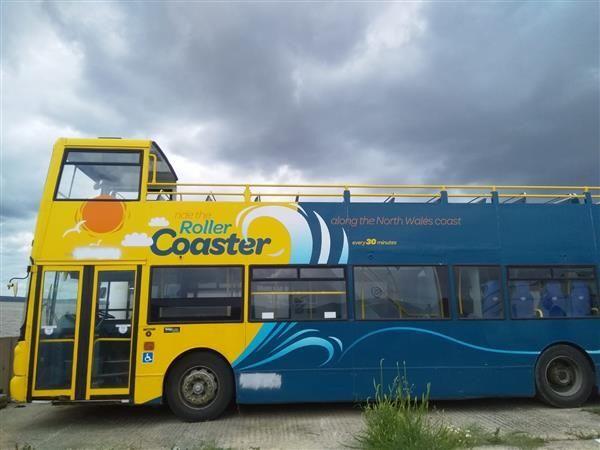 DAF SEMI open top Daf DB250  Double Decker ekskursijas autobuss