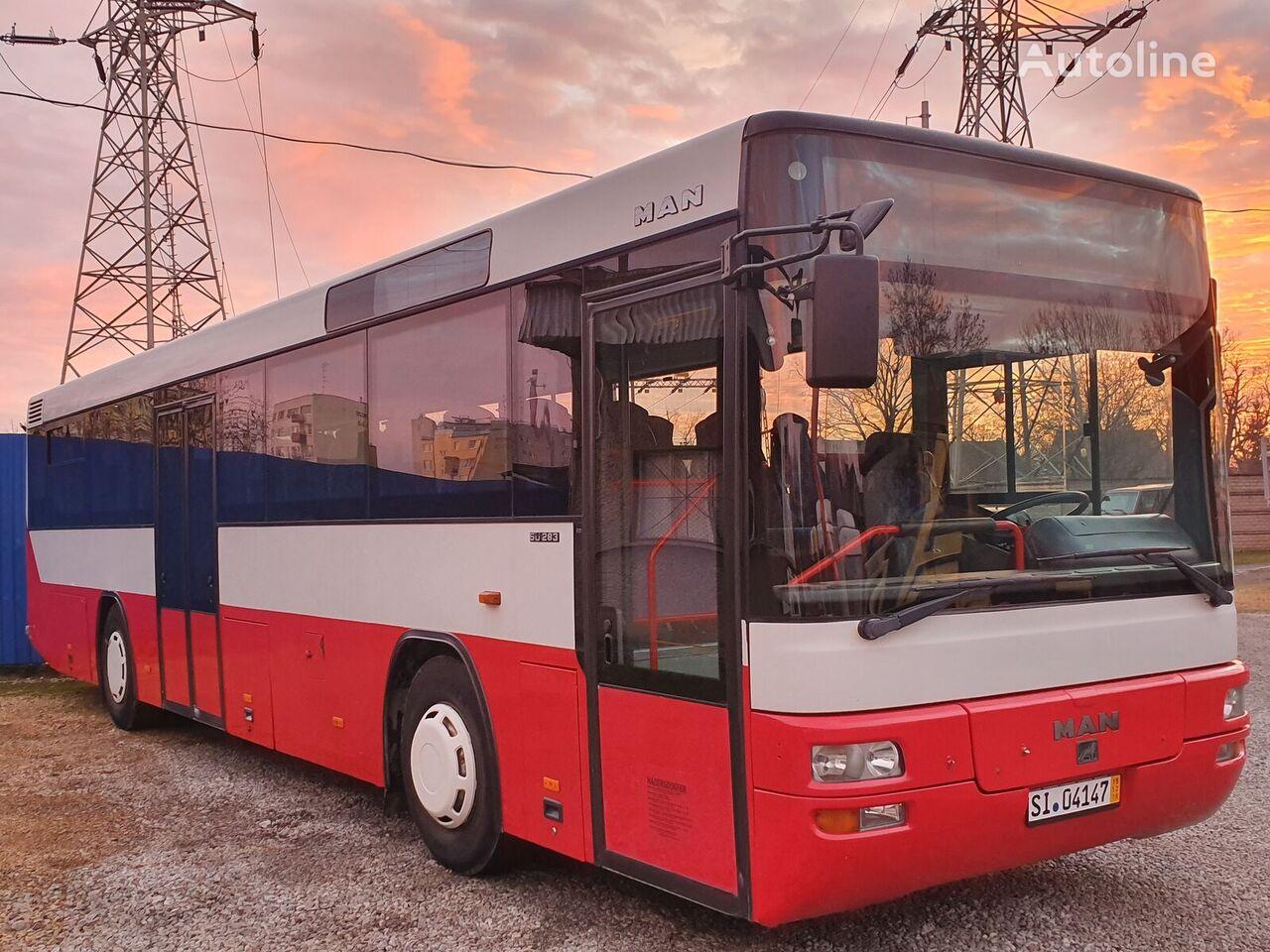 MAN SU 283 LIONS CLASIC MANUAL KLIMA ! ekskursijas autobuss