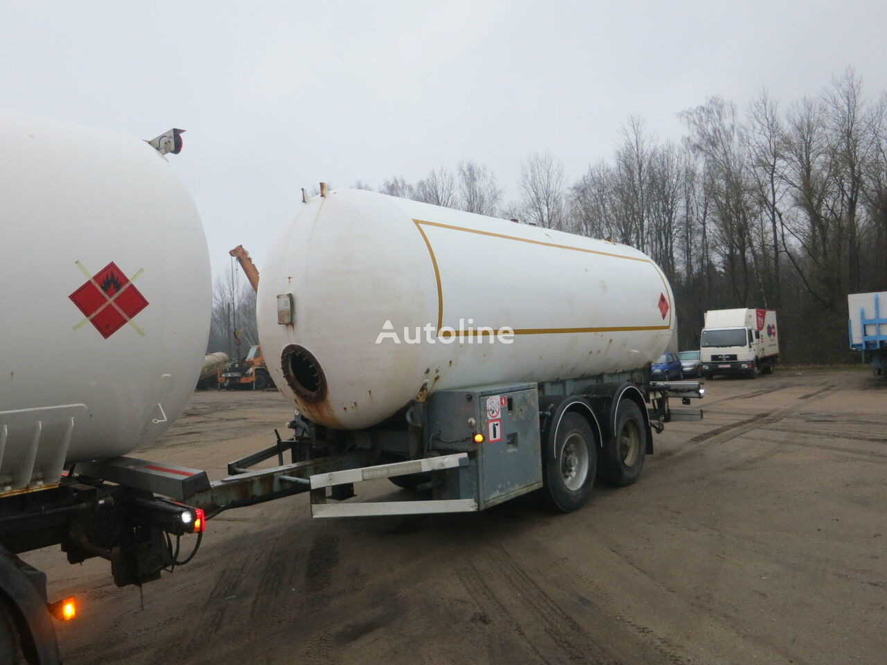 OMSP MACOLA TBT24N gāzes cisterna