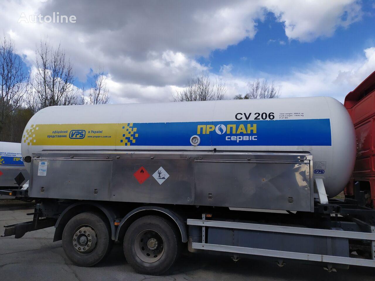 VPS smennoe shassi gāzes cisterna