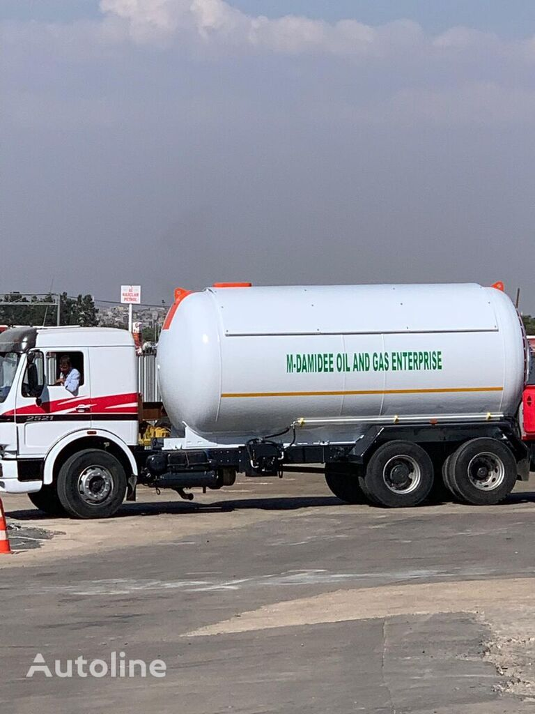 jauns YILTEKS 2019 gāzes cisterna