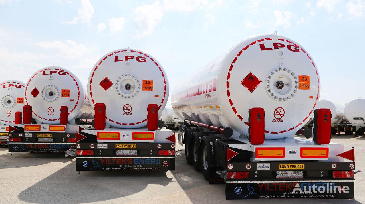 jauns YILTEKS 45 M3 LPG SEMI TRAILER  gāzes cisterna