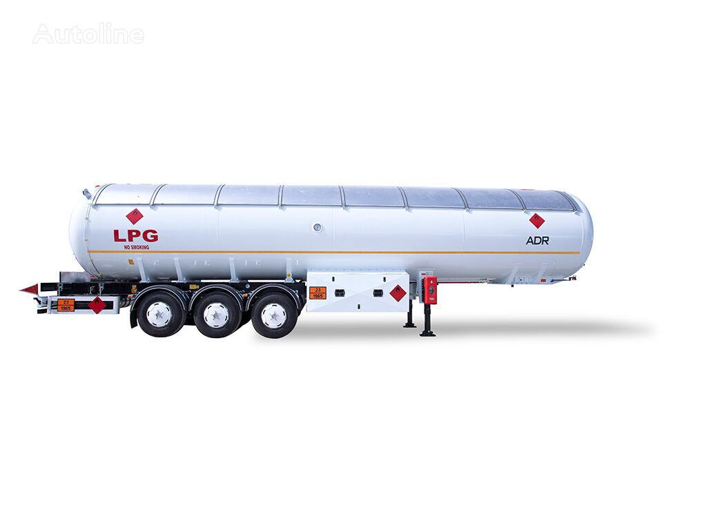 jauns YILTEKS 60 M3 ADR SEMI TRAILER gāzes cisterna