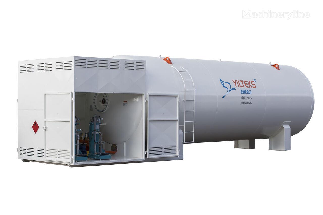jauns YILTEKS LPG Skid Tank gāzes cisterna