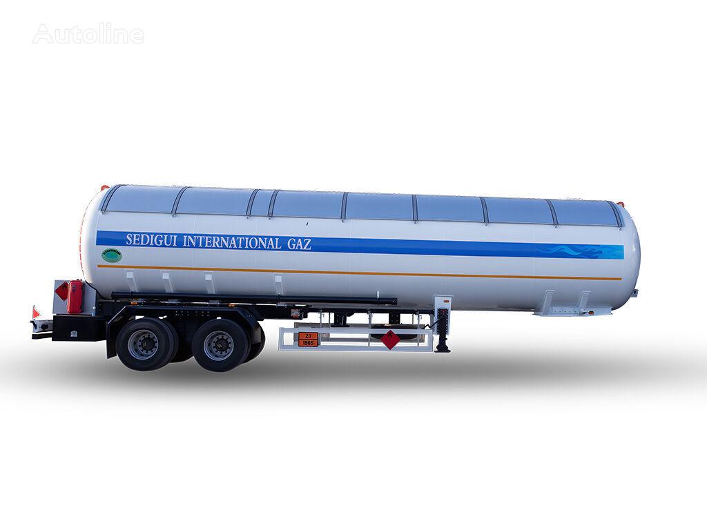 YILTEKS NEW DESIGN 57 M3 SEMI TRAILER gāzes cisterna