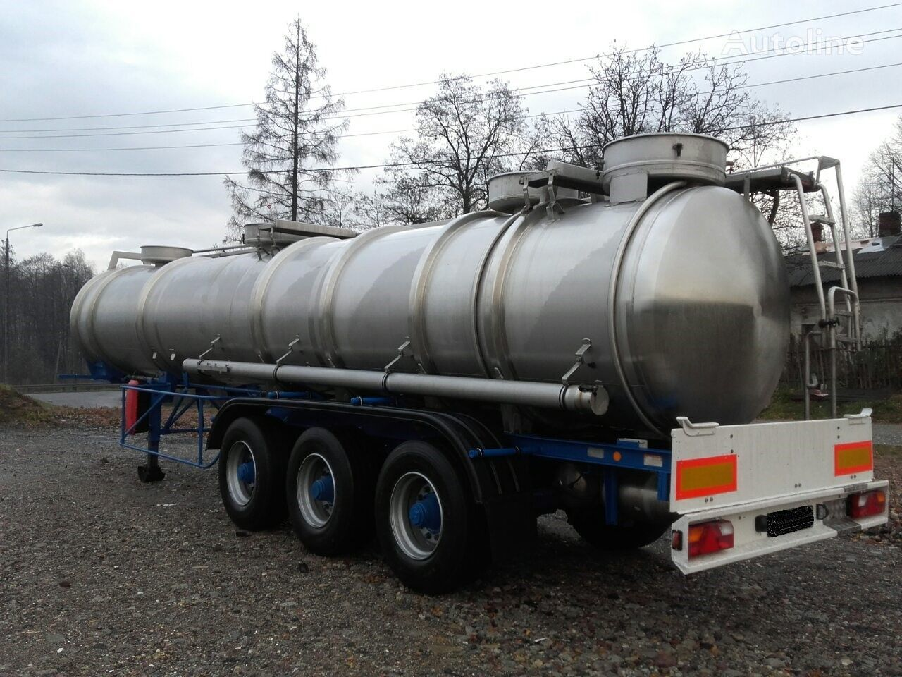 MAGYAR SR34EF     21400L//4Bary//1Komora// ķīmisko vielu cisterna