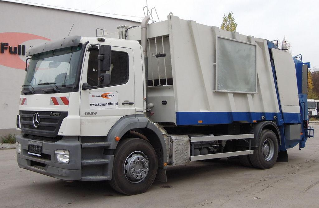 MERCEDES-BENZ 18-24 Axor FAUN GARBAGE TRUCK POWERPRESS 518 18m3 atkritumu vedējs