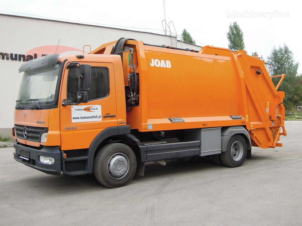 MERCEDES-BENZ Atego 1524 śmieciarka  garbage JOAB Anaconda MD12,5m3 4×2 atkritumu vedējs