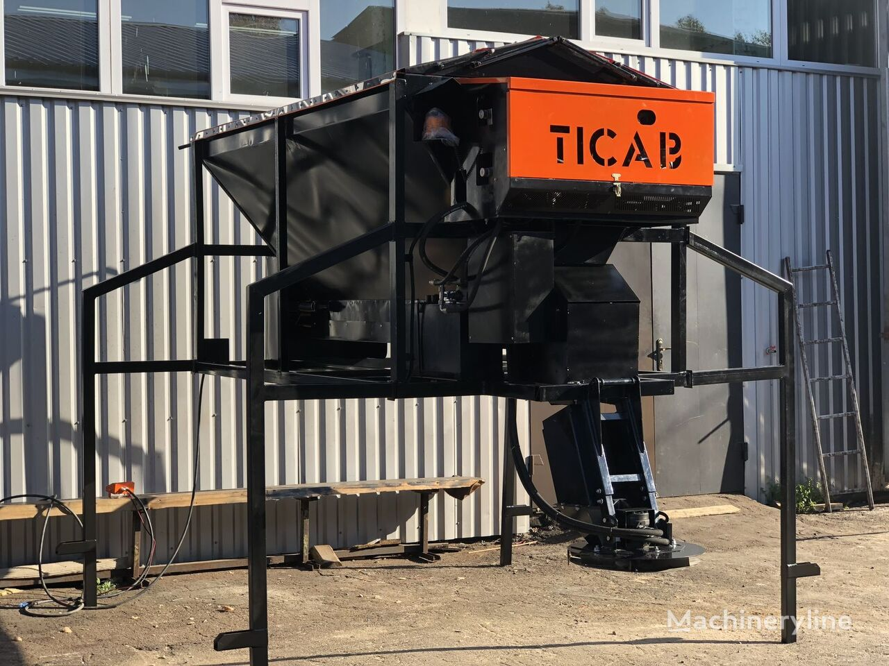 jauns TICAB RPS-1500 smilšu kaisītājs