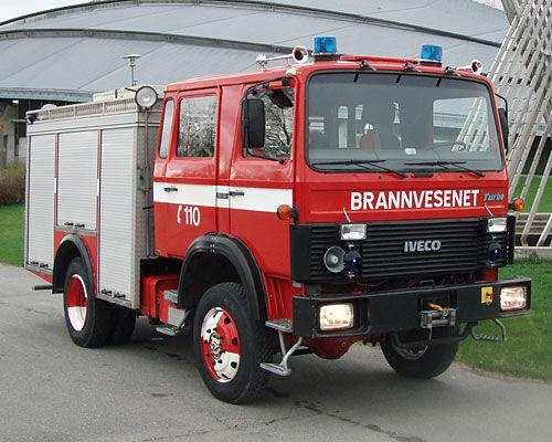 IVECO 80-16 4x4 WD ugunsdzēsēju mašīna