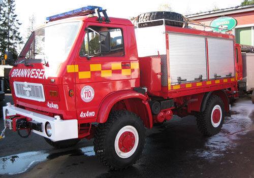 MAN 8.150, 4x4 WD ugunsdzēsēju mašīna