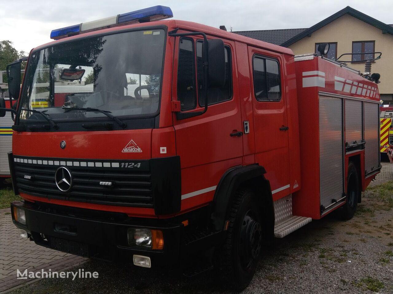 MERCEDES-BENZ 1124F -Nowa pompa ugunsdzēsēju mašīna