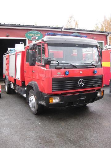 MERCEDES-BENZ 1320 ugunsdzēsēju mašīna