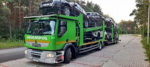 RENAULT Premium 410 auto vedējs + auto vedējs piekabe