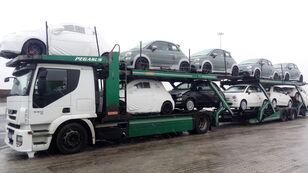 IVECO STRALIS 450 auto vedējs + auto vedējs piekabe