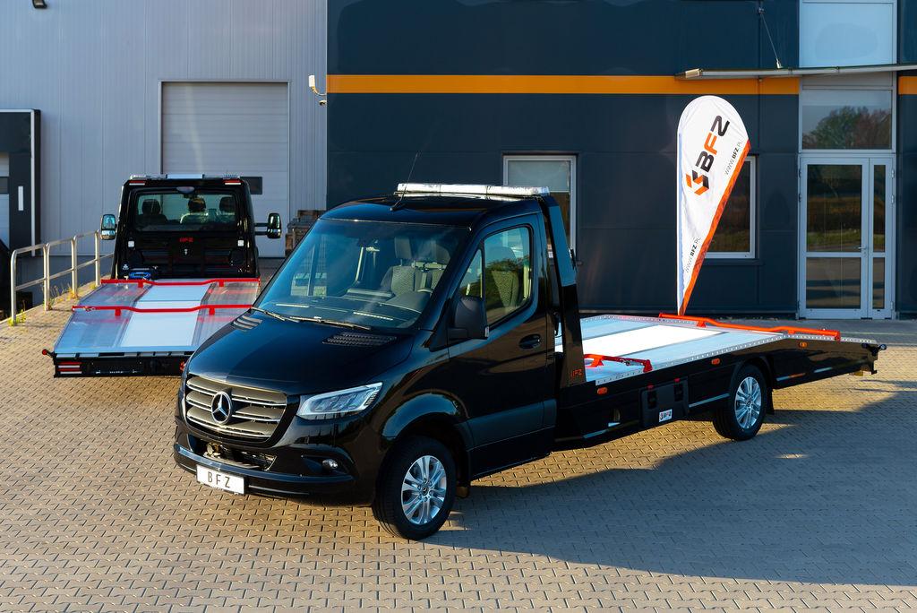 MERCEDES-BENZ Autotransporter Sprinter 316 AUTOMATIK BFZ PLATEAU® *NAVI*XENON* auto vedējs