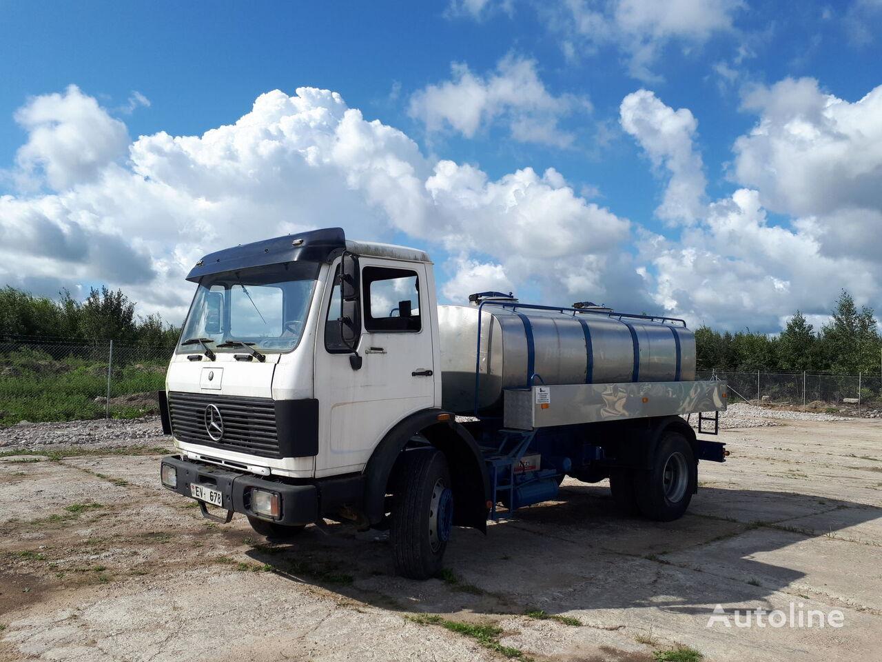 MERCEDES-BENZ 1620 mil/water autocisterna