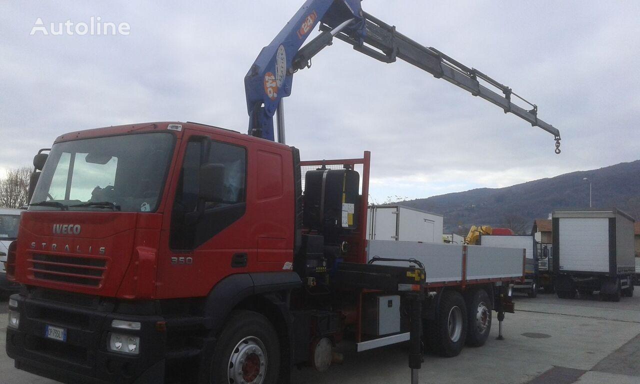 IVECO AT260S35Y/PS STRALIS bortu kravas automašīna