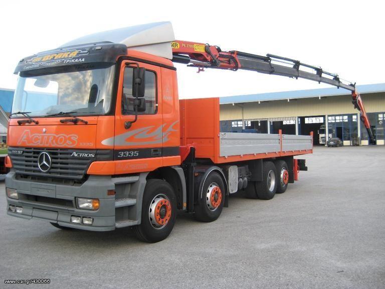 MERCEDES-BENZ 3335 L ACTROS 8X2-2540-2535 '97 bortu kravas automašīna