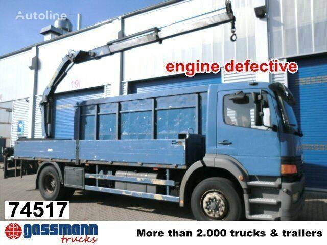 MERCEDES-BENZ Atego 1828 L mit Kran Palfinger PK11001 bortu kravas automašīna