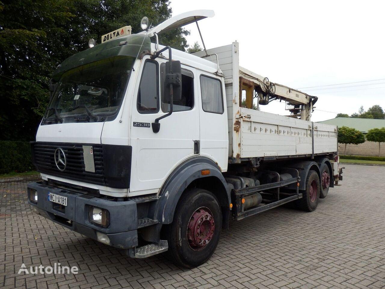 MERCEDES-BENZ SK 2538 6x2 Engine V8 13.t Axles  bortu kravas automašīna