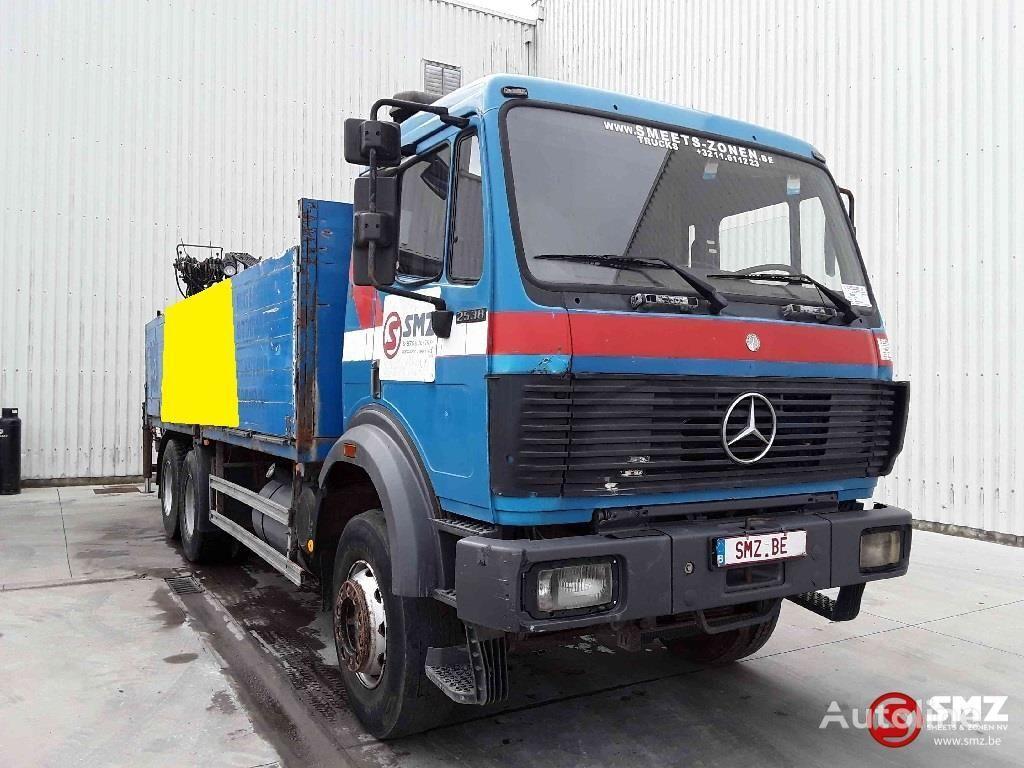 MERCEDES-BENZ SK 2538 hiab 140 K bortu kravas automašīna