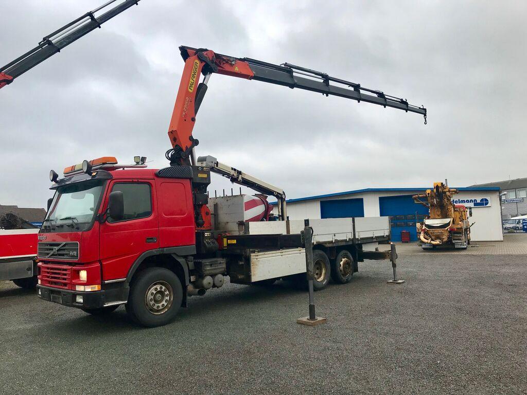 VOLVO FM 12 62 RB 6X2 Palfinger Kran / Crane PK 29002 bortu kravas automašīna