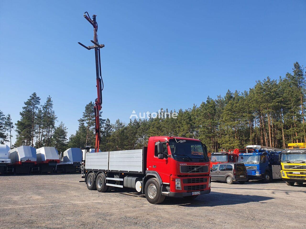 VOLVO FM 380 HDS HYVA HMF 1460 Manual Mało używany bortu kravas automašīna