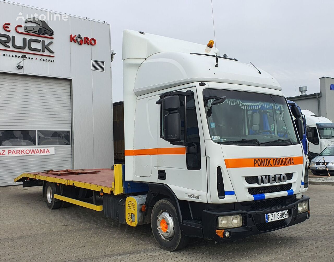 IVECO EuroCargo 90E22, Steel /Air, Manual  evakuators