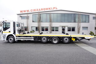 IVECO Stralis 360 , EEV , 8X2 , tridem , load 17t , 8,8m long , retard evakuators
