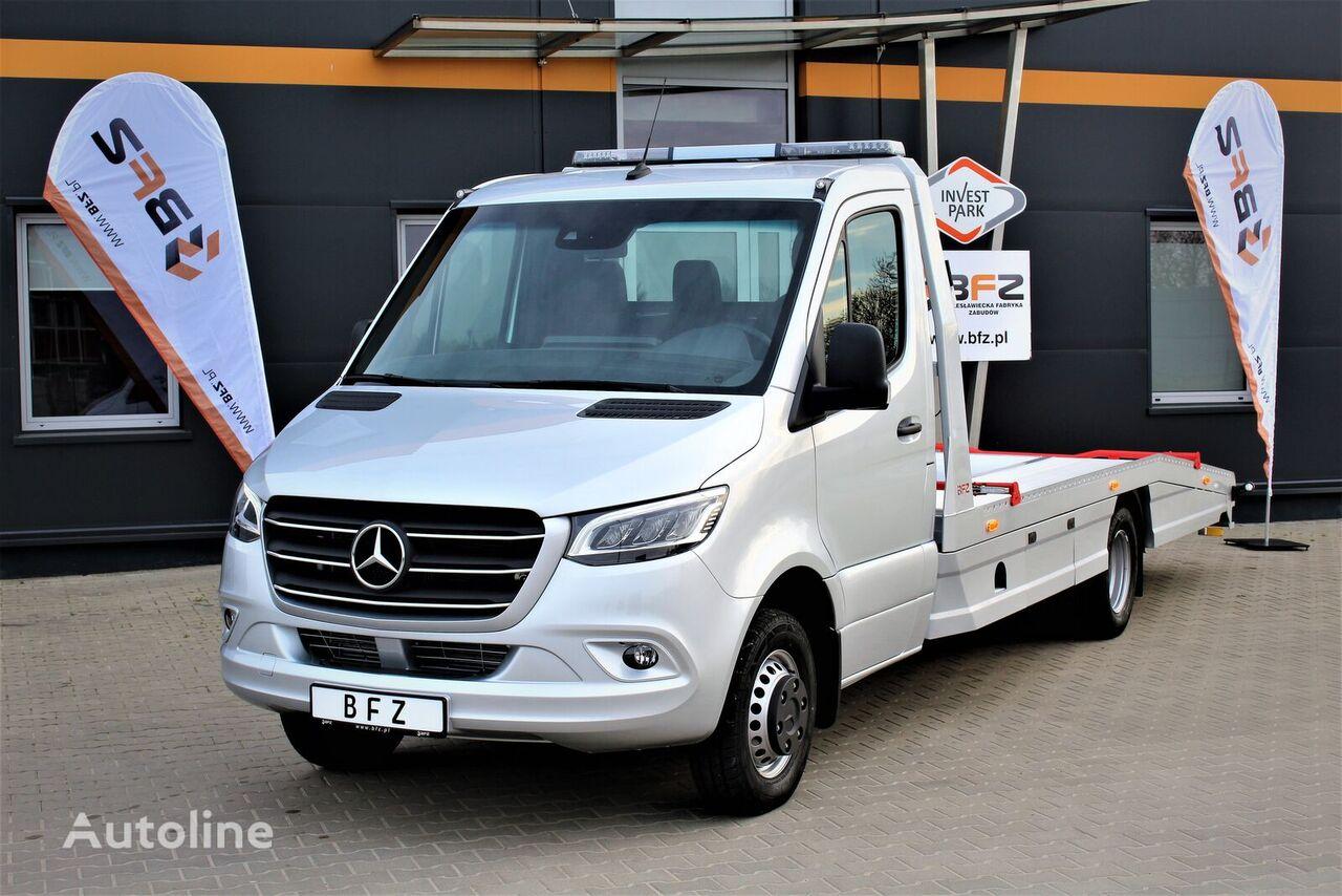 jauns MERCEDES-BENZ Sprinter 519 V6  NAVI LED LUFTFEDERUNG NEU MODEL 907  evakuators