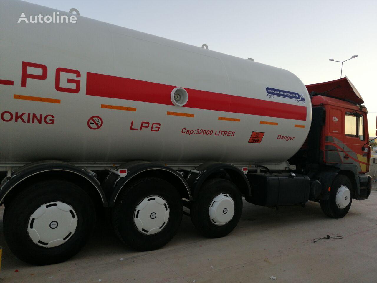 MAN TOP SYSTEM NEW BUILDED 32000L And 24000L LPG Bobtail LAST ONE IN gāzes vedējs