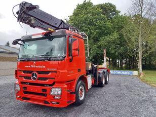 MERCEDES-BENZ Actros 3360 -6x4-hiab crane-steel suspension-alcoa kokvedējs