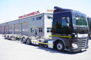 DAF XF 460 SC , E6 , 6X2 , BDF + Wecon 2 axles trailer , BDF SET  konteinervedējs + šasija piekabe
