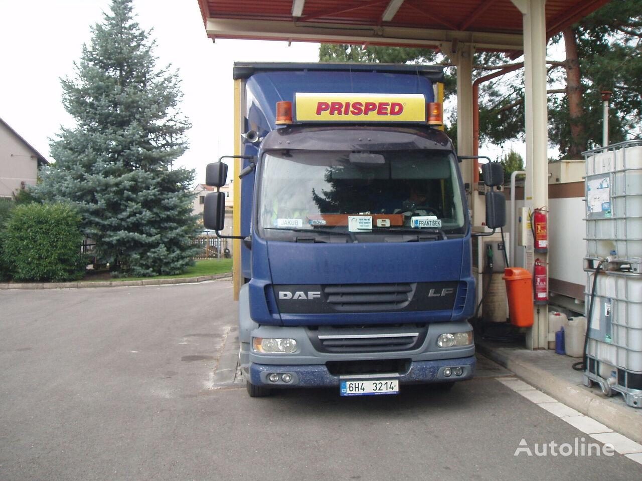 DAF LF 55 kravas automašīna ar aizkariem