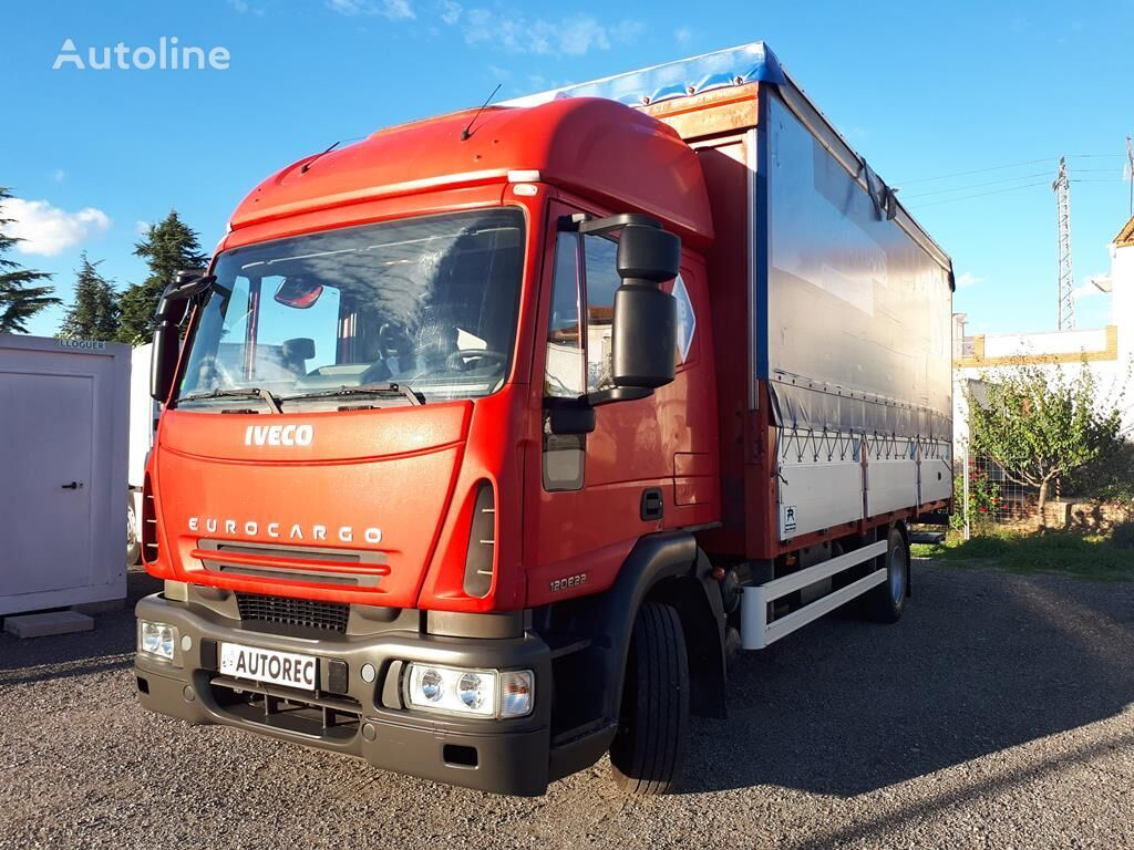 IVECO Eurocargo 120E22 kravas automašīna ar aizkariem