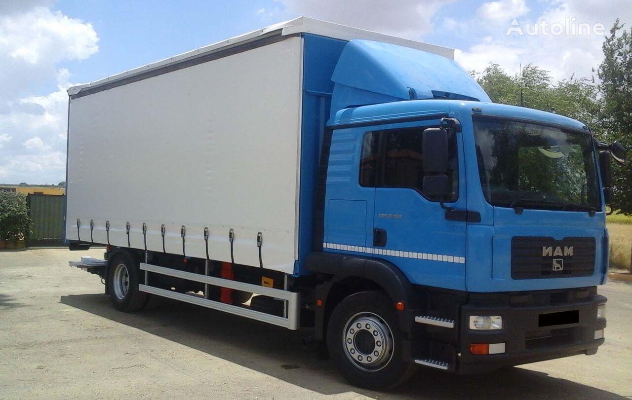 MAN TGM 18 280 kravas automašīna ar aizkariem