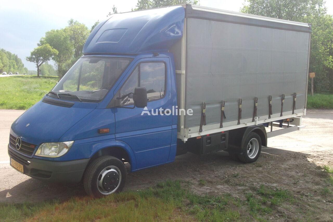 MERCEDES-BENZ 411 CDI Sprinter  kravas automašīna ar aizkariem