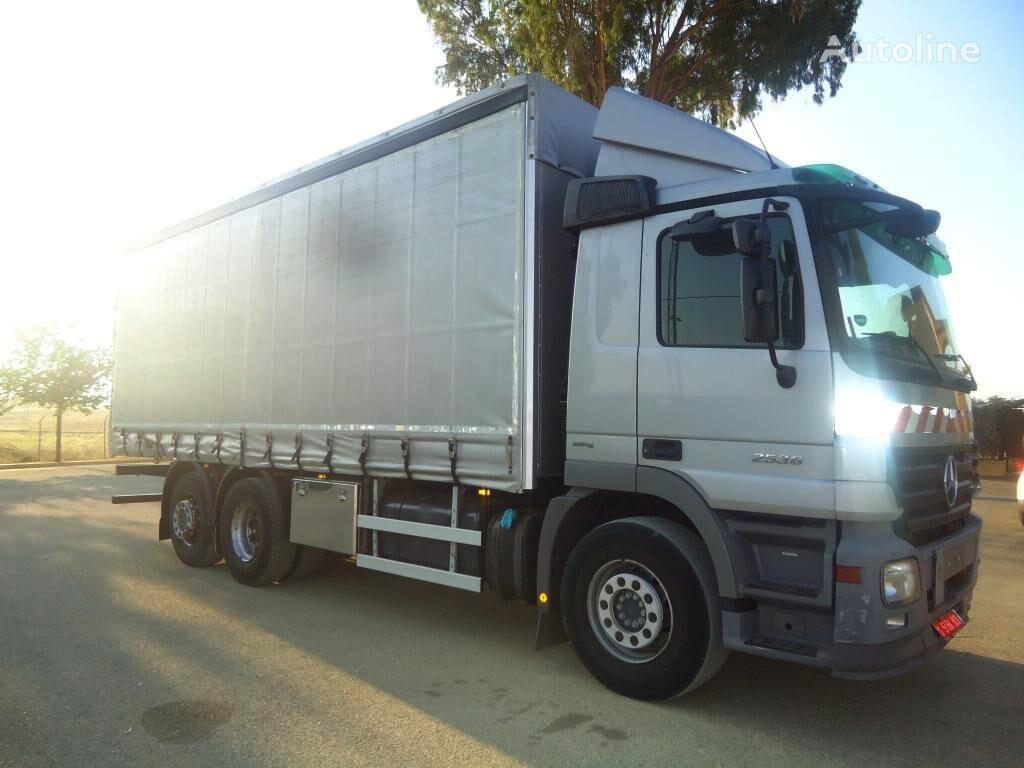 MERCEDES-BENZ ACTROS 25 36 kravas automašīna ar aizkariem