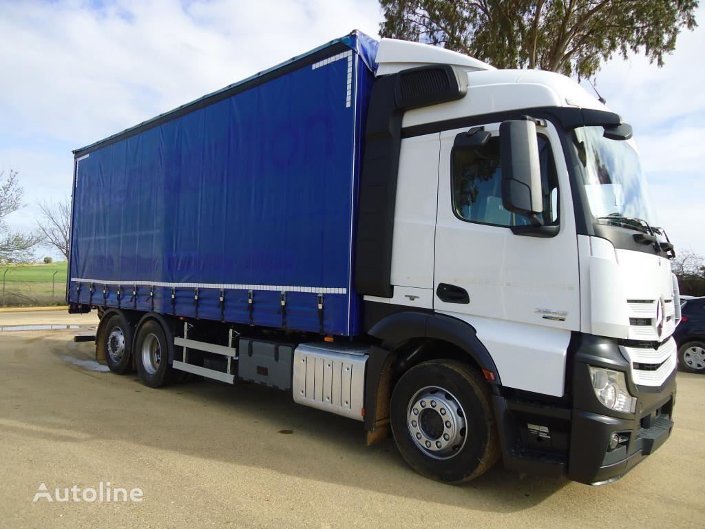 MERCEDES-BENZ ACTROS 25 45 kravas automašīna ar aizkariem
