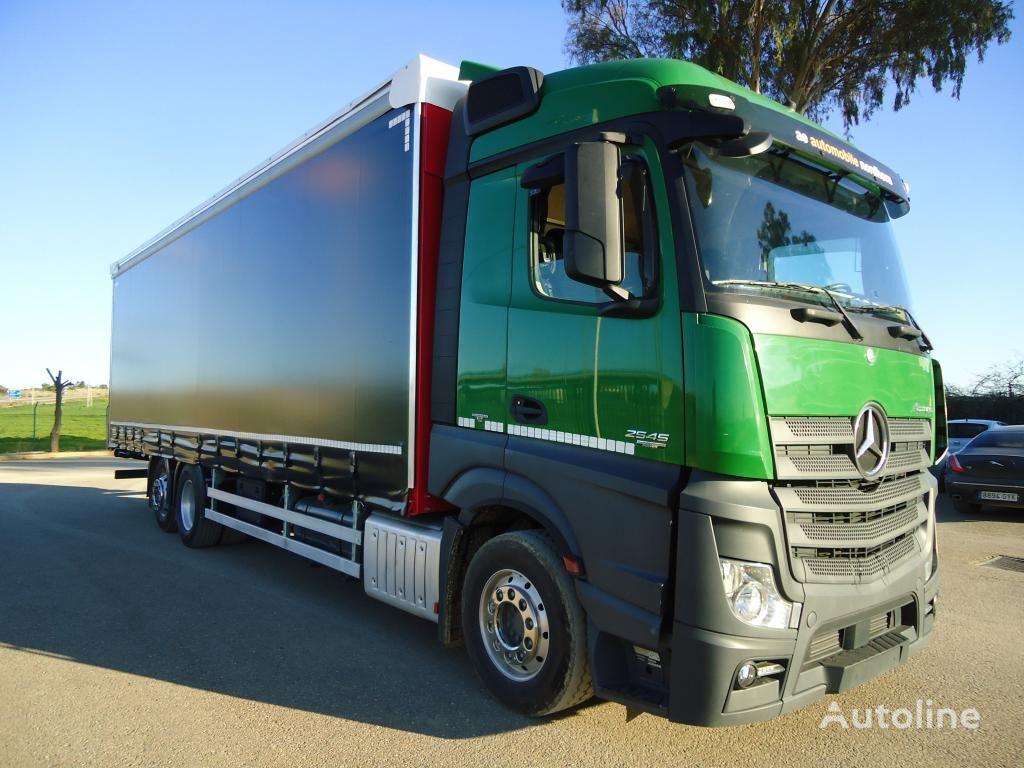 MERCEDES-BENZ ACTROS 25 450 kravas automašīna ar aizkariem