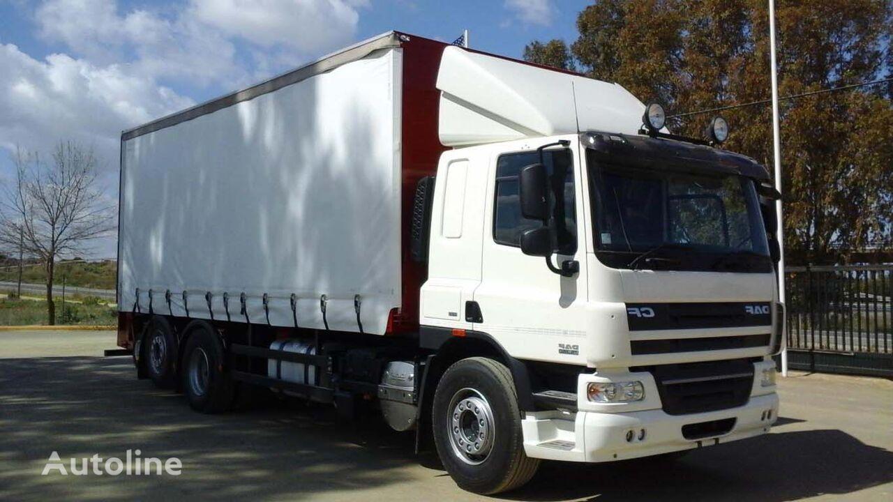 MERCEDES-BENZ CF75 360 kravas automašīna ar aizkariem