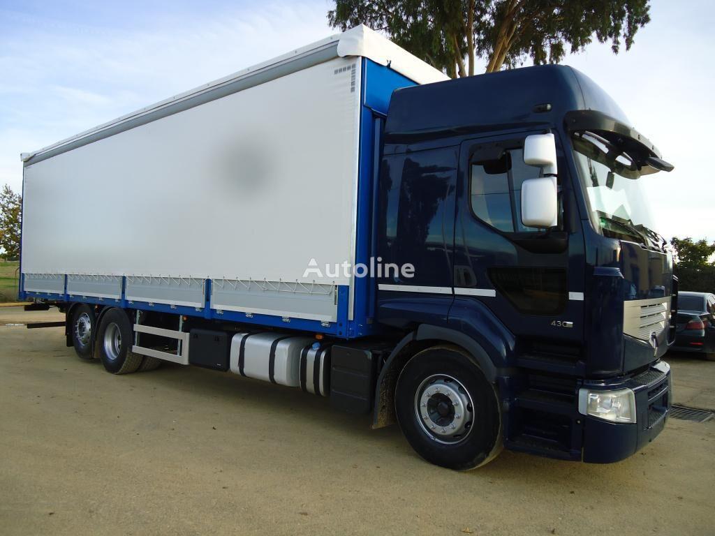 RENAULT PREMIUM 430 DXI kravas automašīna ar aizkariem