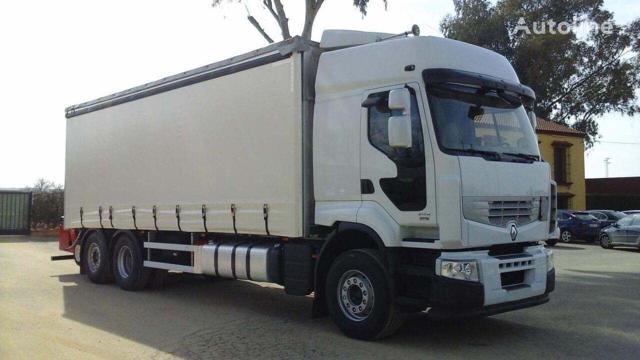RENAULT PREMIUM 450 DXI kravas automašīna ar aizkariem
