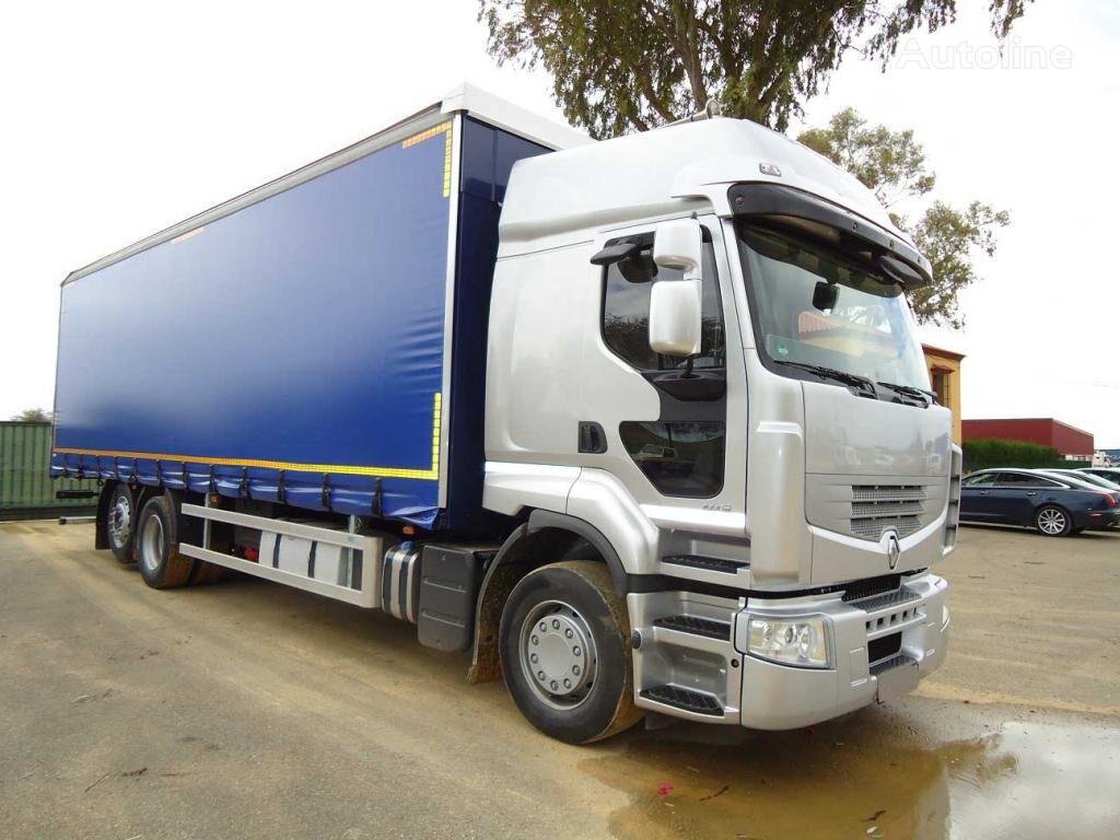 RENAULT PREMIUN 460 DXI kravas automašīna ar aizkariem