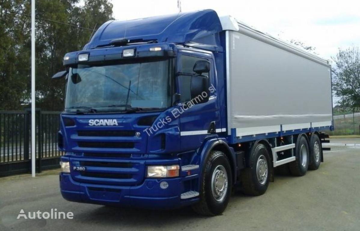 SCANIA P 380 kravas automašīna ar aizkariem