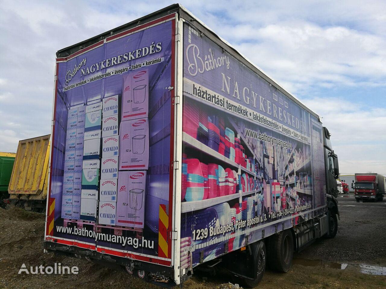 SCHWARZMÜLLER LBA ROLÓPONYVÁS FELÉPÍTMÉNY kravas automašīna ar aizkariem
