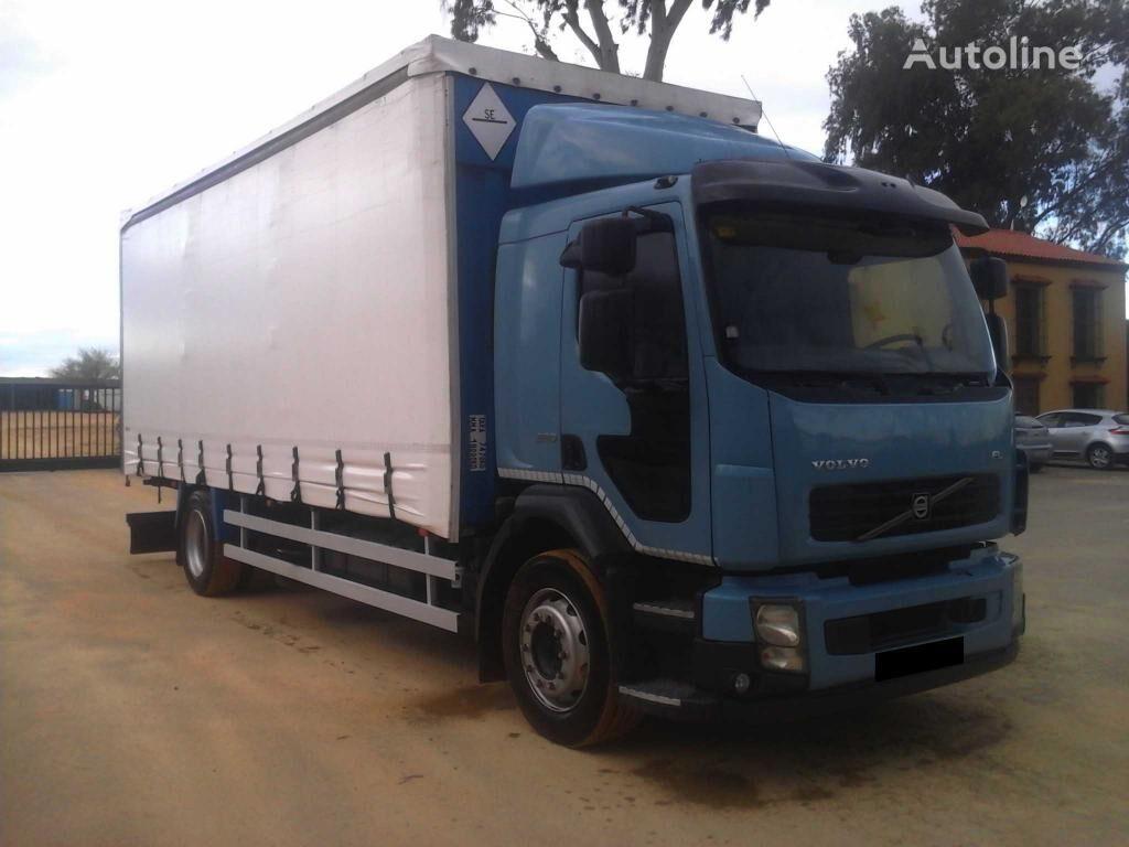 VOLVO FL 240 kravas automašīna ar aizkariem