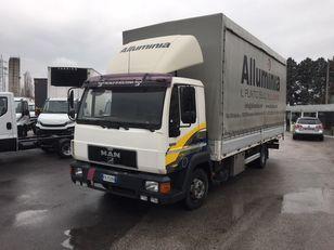 MAN 11.224 new motor kravas automašīna ar tentu